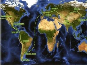 История № 18. «Копейка – путешественница вокруг света»